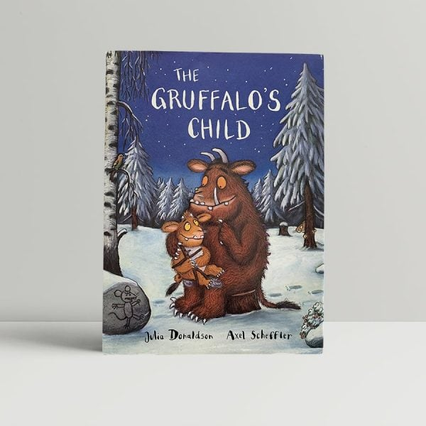 julia donaldson alex scheffler the gruffalos child first uk edition 2004