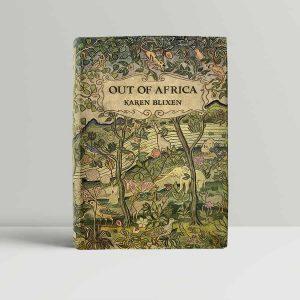 karen blixen out of africa first uk edition 1938
