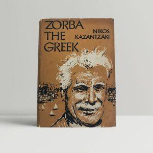 kazantzakis nikos zorba the greek first uk edition 1952