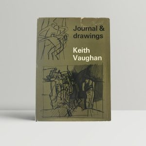 keith vaughan journal drawings first uk edition 1966 signed by the author