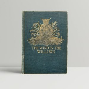 kenneth grahame the wind in the willows first uk edition 1908