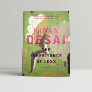 kiran desai the inheritance of loss first uk edition 2006 signed bookmark