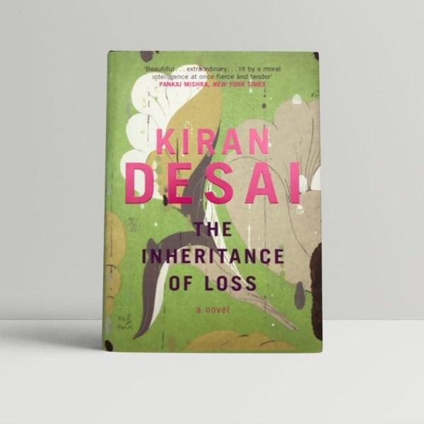 kiran desai the inheritance of loss first uk edition 2006 signed bookmark