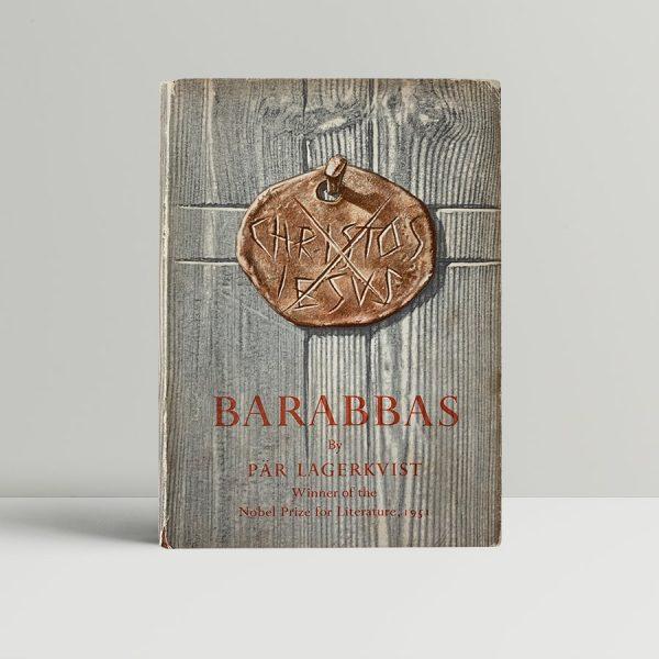 lagerkvist par barabbas first uk edition 1952