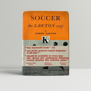 lawton tommy soccer the lawton way first uk edition 1954 signed