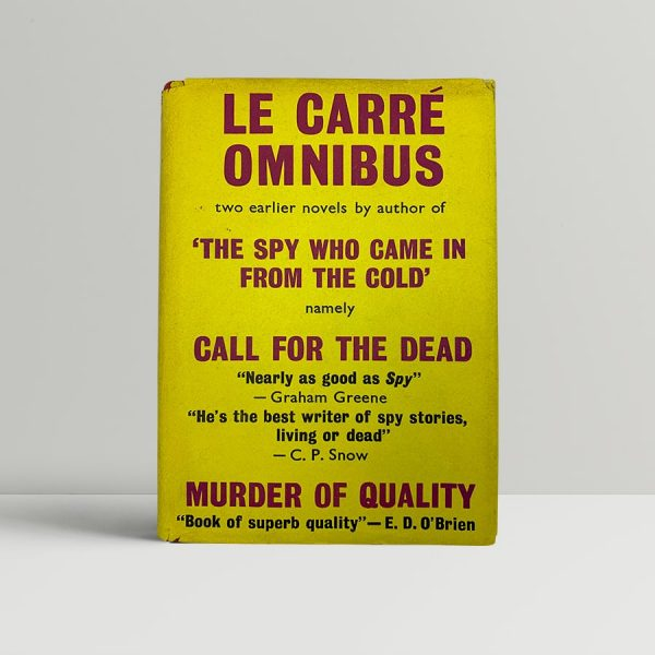 le carre john le carre omnibus first uk edition 1964 2