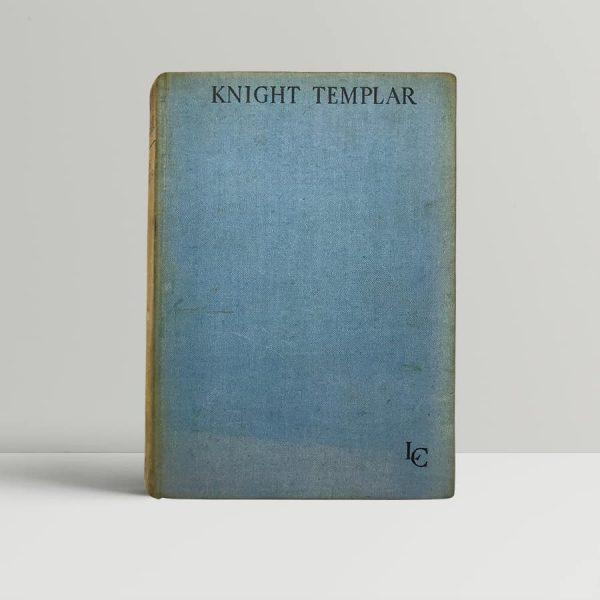 leslie charteris knight templar first uk edition 1930 the saint