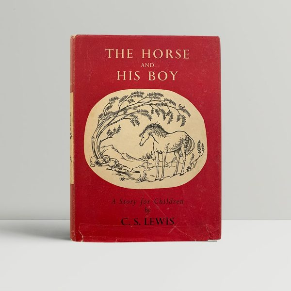 lewis c s the horse and his boy first uk edition 1954