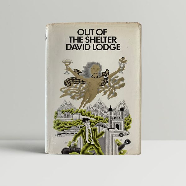 lodge david out of the shelter first uk edition 1970