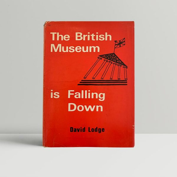 lodge david the british museum is falling down first uk edition signed