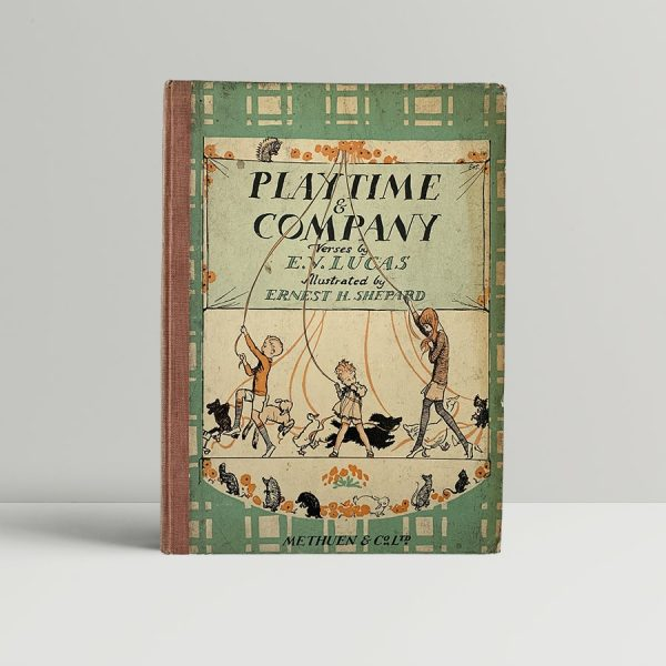 lucas e v shepard ernest h playtime and company 1st uk edition 1925 signed