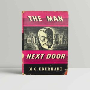 m g eberhart the man next door first uk edition 1943