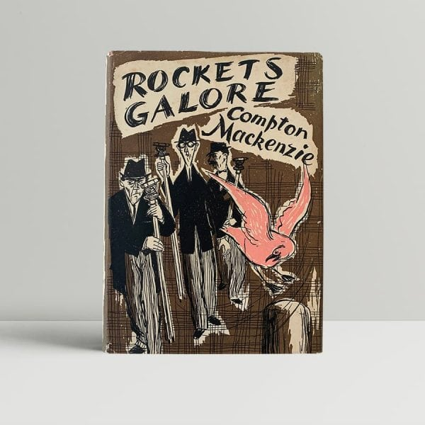 mackenzie compton rockets galore first uk edition 1957 signed
