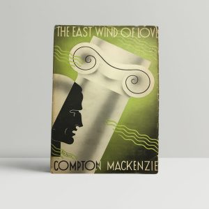 mackenzie compton the east wind of love first uk edition signed