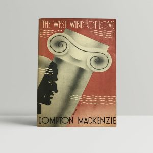mackenzie compton the west wind of love first uk edition