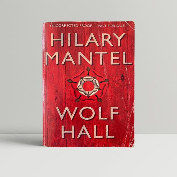 mantel hilary wolf hall first uk proof