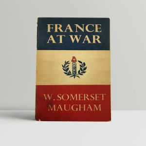 maugham w somerset france at war first uk paperback edition 1940 signed