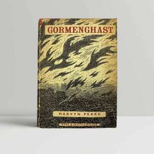 mervyn peake gormenghast first uk edition 1950 signed