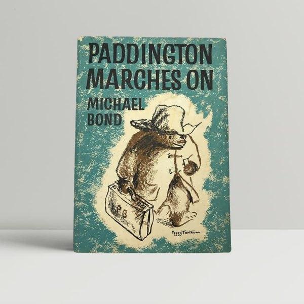 michael bond paddington on the march first uk edition 1964