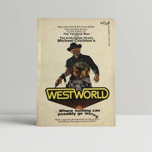 michael crichton westworld first uk paperback 1974