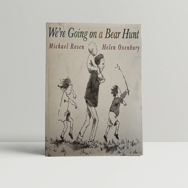 michael rosen helen oxenham were going on a bear hunt first uk edition 1989