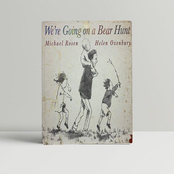 michael rosen were going on a bear hunt first uk edition 1989