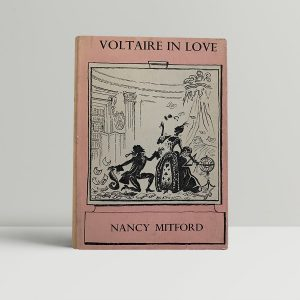 mitford nancy voltaire in love first uk edition signed