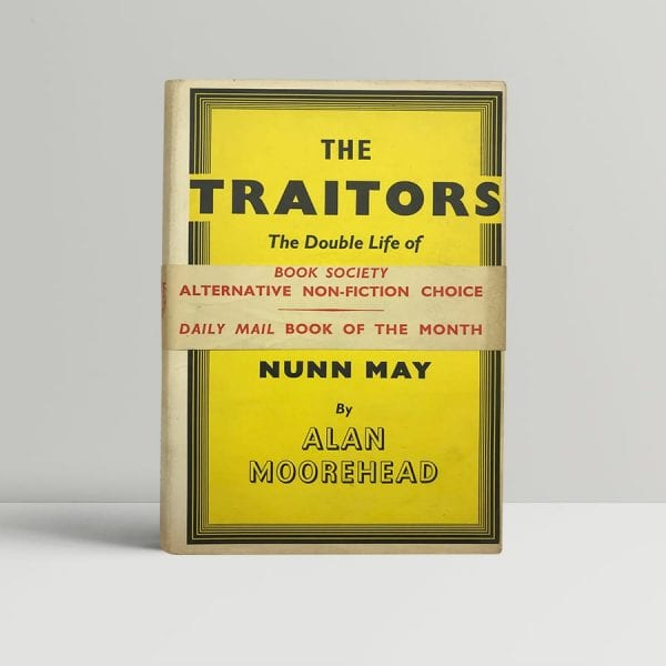 moorehead alan the traitors first uk edition 1952