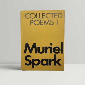 muriel spark collected poems i first uk edition signed