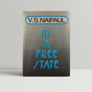 naipaul v s in a free state 1st uk edition printers errata