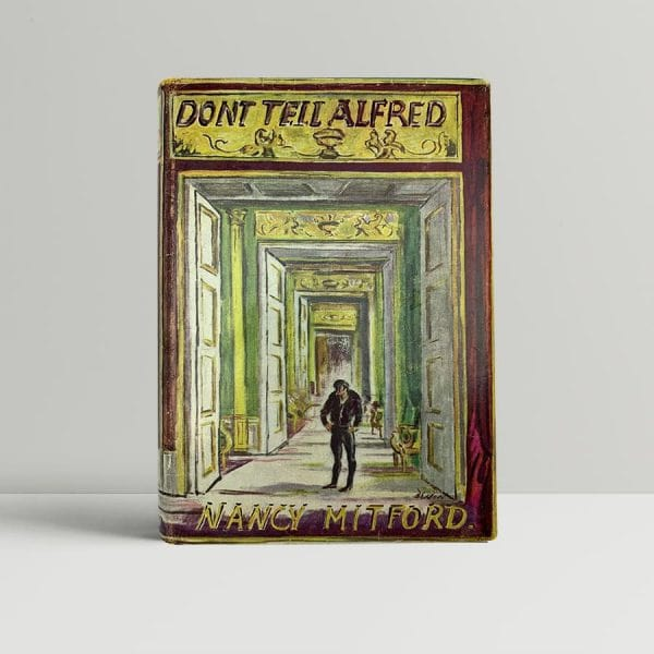 nancy mitford dont tell alfred first uk edition 1960 signed