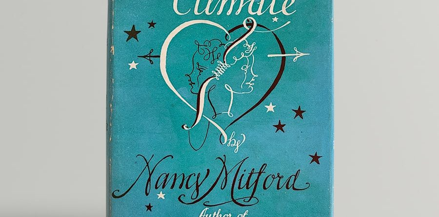 nancy mitford love in a cold climate signed edition 1949 11507