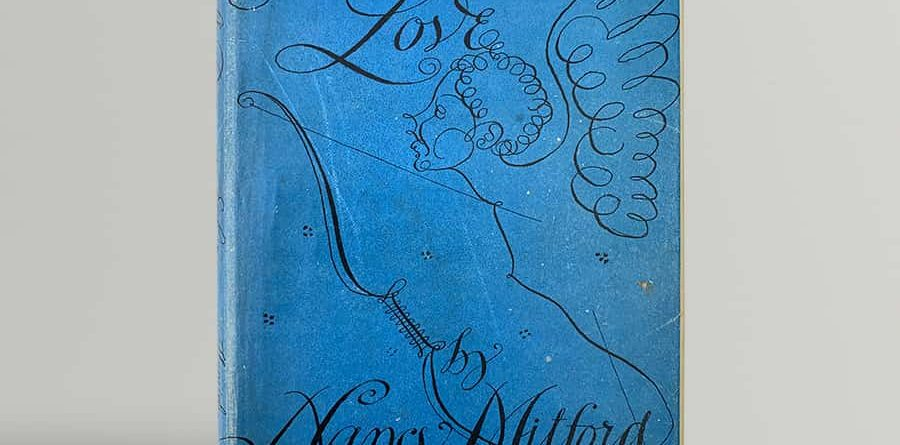 nancy mitford the pursuit of love in the first issue wrapper signed and inscribed in the year of publication by the author