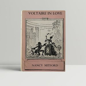 nancy mitford voltaire in love first uk edition 1957 signed