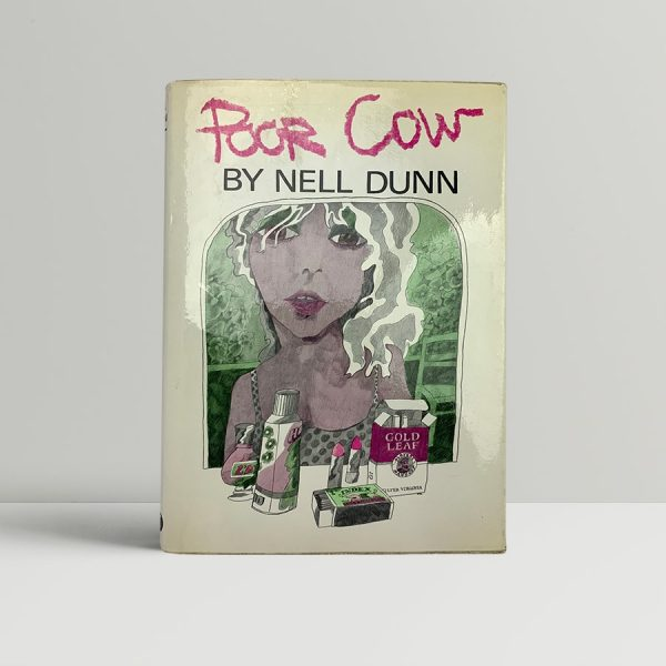 nell dunn poor cow first uk edition 1967 signed and inscribed in the year of publication