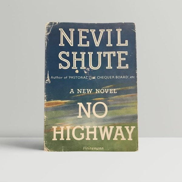 nevil shute no highway first uk edition signed 1948