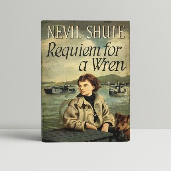 nevil shute requiem for a wren first uk edition 1955