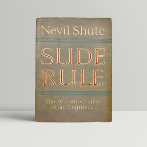 nevil shute slide rule first uk edition 1954