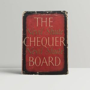 nevil shute the chequer board first uk edition 1947 signed