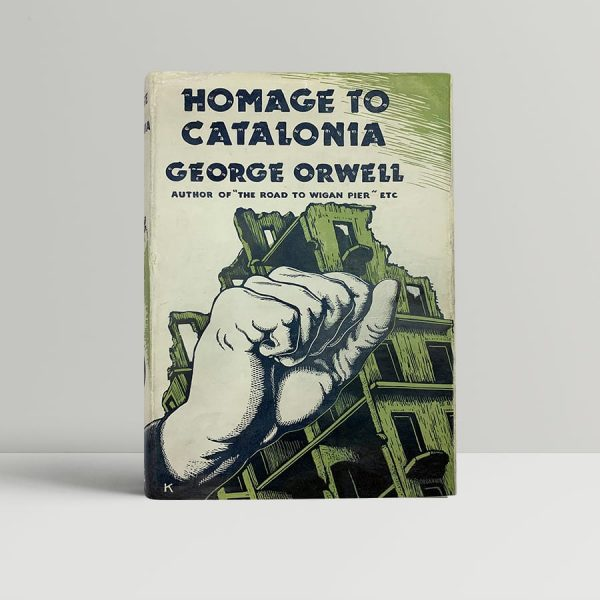 orwell george homage in catalonia first uk edition 1938