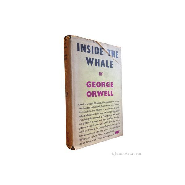 orwell george inside the whale first uk edition 1940 1