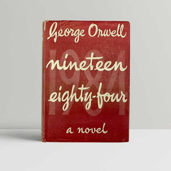 orwell george nineteen eighty four first uk edition 1949 2