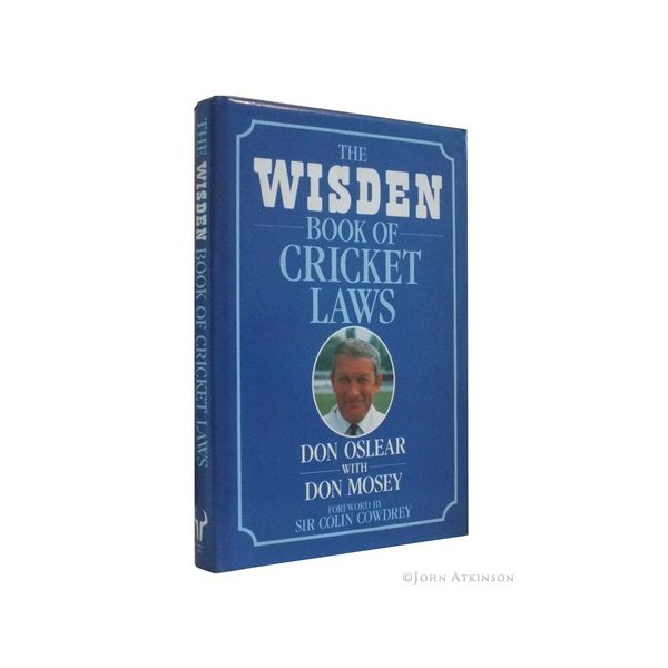 osler don and mosey don the wisden book of cricket laws first uk edition signed 2