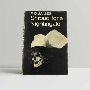 p d james shroud for a nightingale first uk edition 1971