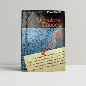 p d james unnatural causes first uk edition 1967 signed