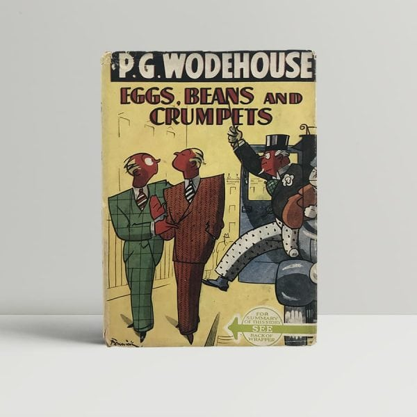 p g wodehouse eggs beans and crumpets first uk edition 1940