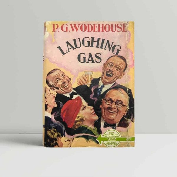 p g wodehouse laughing gas first uk edition 1936