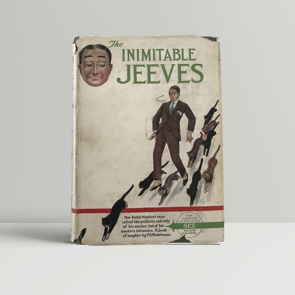 p g wodehouse the inimitable jeeves first uk edition 1923