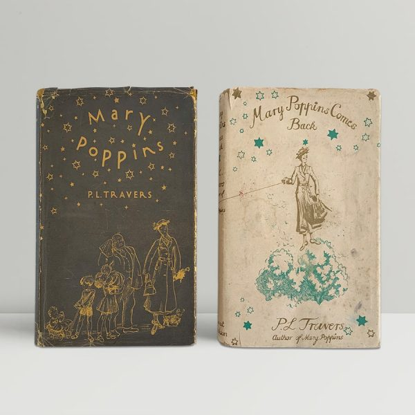 p l travers mary poppins with mary poppins comes back first uk editions img 1063 2