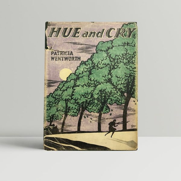 patricia wentworth hue and cry first us edition 1927